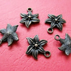 Antique Bronze Starfish  Charm -2pcs