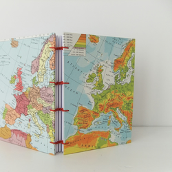Handmade Travel Journal