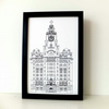 Liver Building  Print - Liverpool picture