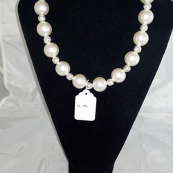 Acrylic Pearl Necklace