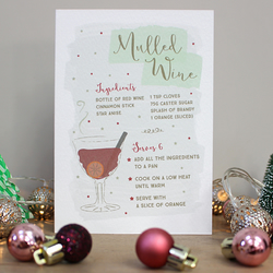 C11 - Mulled Wine Christmas Card
