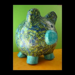 DecoPatch Piggy Bank