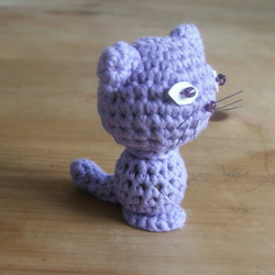Crochet Kitty - MADE TO ORDER
