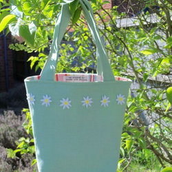 RESERVED Daisy bag for Macmillan Fundraising ....BUTEARTISM