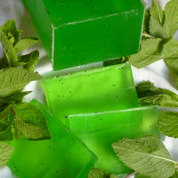 Organic Tea Tree & Fresh Mint Soap