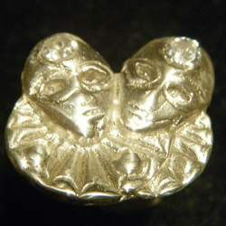 Pure Silver Clown Ring