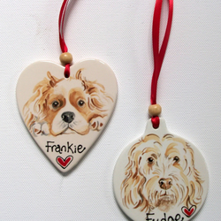 Pet Portrait Hanging Decoration