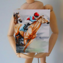 Horse ACEO