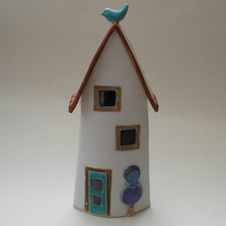 Home from Home, A handmade ceramic house.