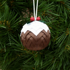 Christmas Pudding Hanging Decoration   (25% OFF UNTIL CHRISTMAS)