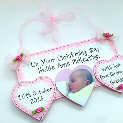Welcome to the World Personalised Baby Birth Details Keepsake