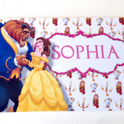 Beauty and the Beast Door Sign Plaque