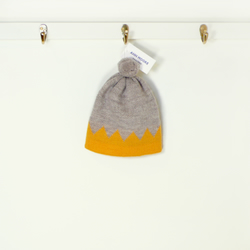 Crown hat for kids (yellow)