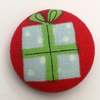 Christmas Present Fabric Badge