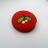 SALE Mistletoe Fabric Badge