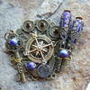 Brooch The Purple Compass