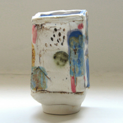 Small Porcelain Slab Pot