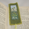 Embroidered Bookmark - Sheep and Buttercups