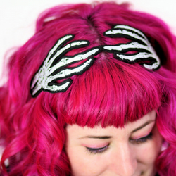 Skeleton Hands Halloween Headband