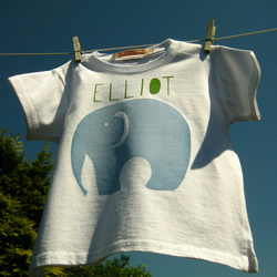 Customised Organic Baby T Shirt