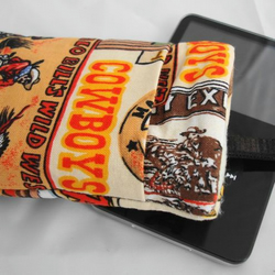 Ipod Phone Case Cozy - Cowboy Wild West