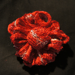 Red Flower Corsage