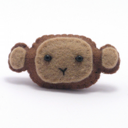 Monkey Brooch