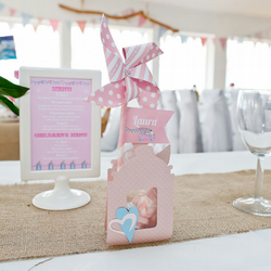 Folksywedding Handmade Wedding Paper Pinwheel Place Setting nautical