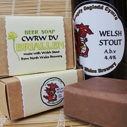 Cwrw Du Beer Soap