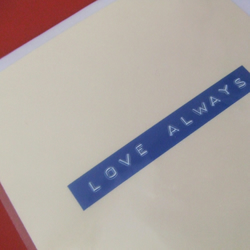 Statement Card - Love Always