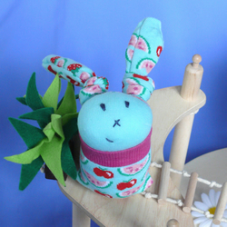 Melly Bunny Rabbit Sock Toy -  0133