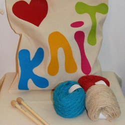 Love to Knit - Project Kit  -  SALE