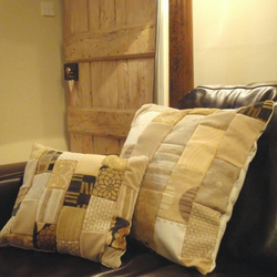Small Patchwork Cushion