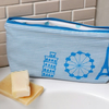 Small Blue Stripe Europe Wash bag