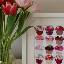 Cupcakes Picture - Personalised