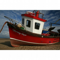Photographs Photography Boat Boats Nautical Seaside Red