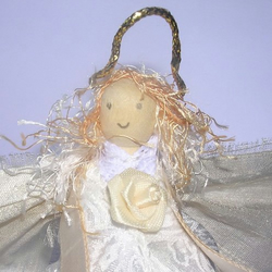Peg Doll Fairy ~ Peg Doll Angel ~  Rose~  Fairy