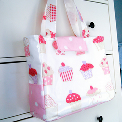 Large Oilcloth Tote Bag