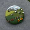 Round Sheep Landscape Broach