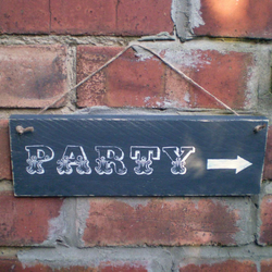 Party Sign