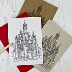 Pack of Chichester Cross Blank Cards