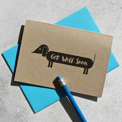 Dog Themed Get Well Card