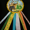 Birthday badge-Rosette Horse