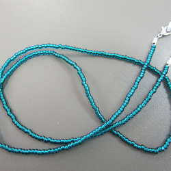 Turquoise Beaded Glasses Chain, Turquoise Spectacle Chain