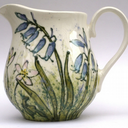 Spring Flower Milk Jug 1