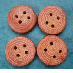 Scotch Pine Wood Buttons