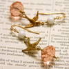 Chione reworked vintage earrings