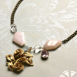 Antoinette reworked vintage necklace