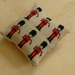 London soldiers cushion