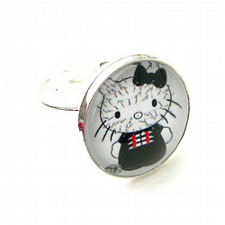 Hell-o-raiser Kitty Cocktail RIng